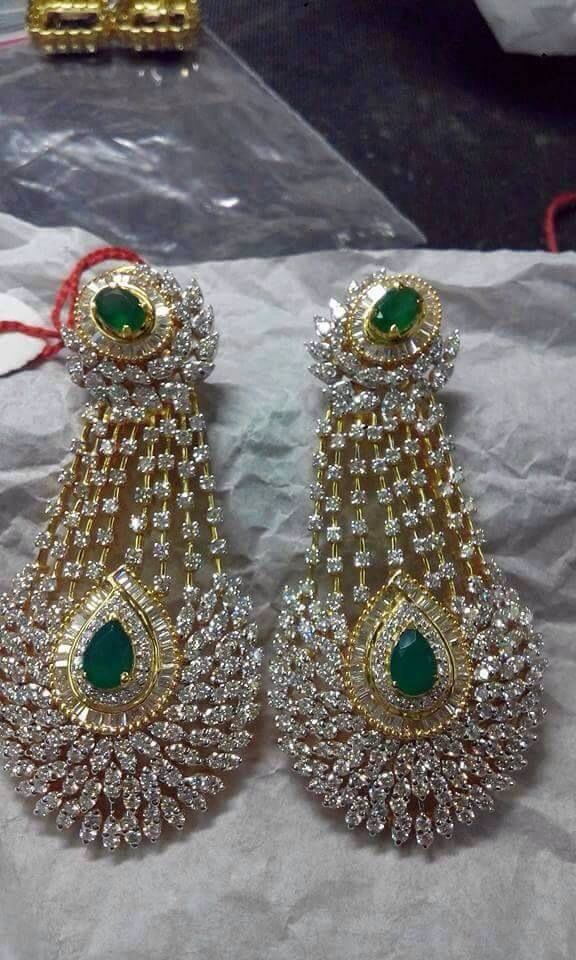 Earring with Daimond