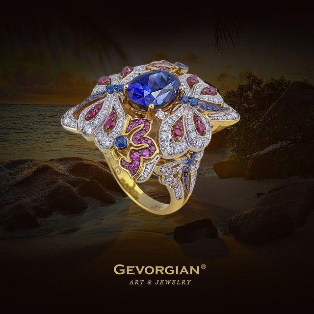 Кольцо «Тропикана» Еще одно кольцо из коллекции Флора напоминает тропический…
