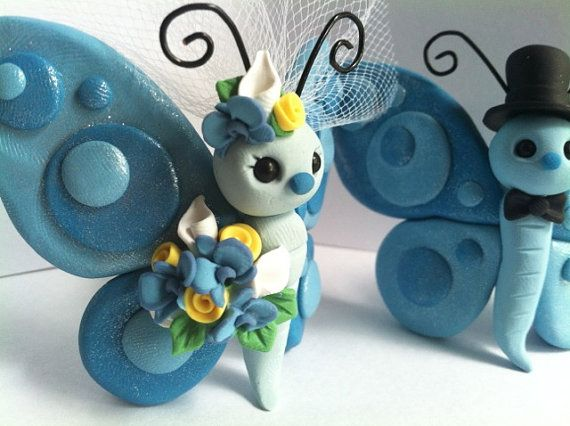 Hey, I found this really awesome Etsy listing at http://www.etsy.com/listing/153629483/butterfly-love-wedding-cake-topper