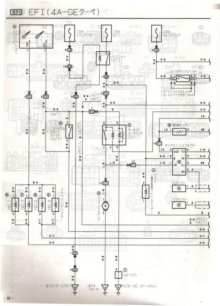 18 Toyota 4age Engine Wiring Diagram Engine Diagram Wiringg Net Toyota Engineering Sheet Music