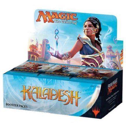 Magic the Gathering MTG Kaladesh Sealed Booster Box - 36 packs / 15 cards, Multicolor