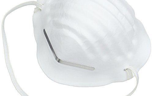 Silverline 266831 Boîte de 50 masques protecteurs anti-poussière FFP2 à usage unique: Masques protecteurs jetables Usage unique Protegent…