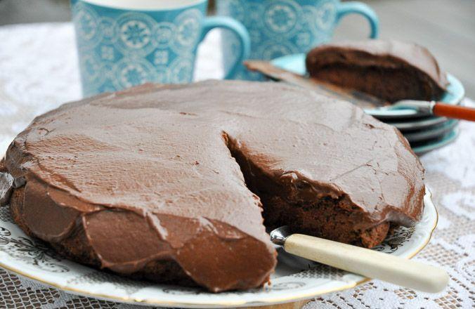 Go Green sjokoladekake-6