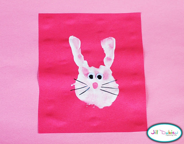 Handprint Bunnies