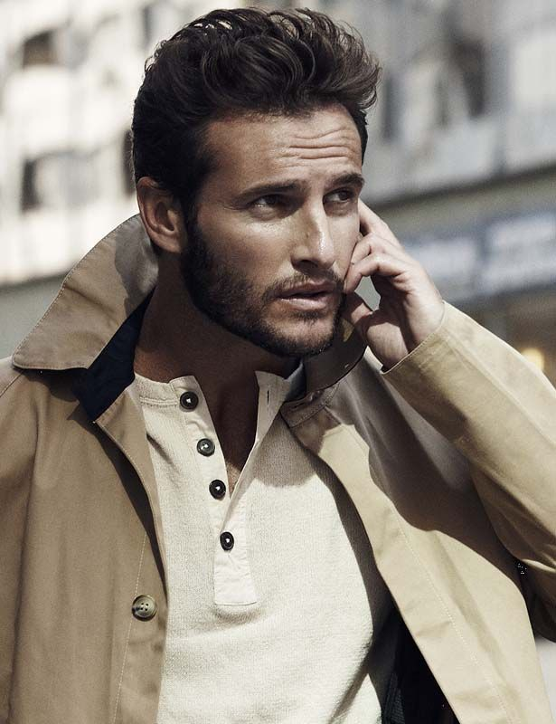 Angel Bonanni, male model, singer, and actor, born in Uruguay, raised in Australia, and now an Israeli immigrant.