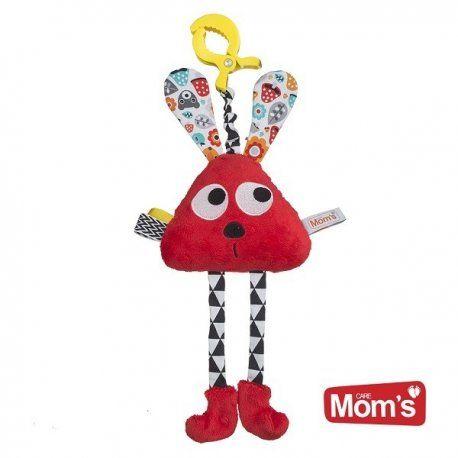 Będziemy grzechotać i szeleścić uszkami:)    Czerwony długołapek Hencz Toys 967 -  Nietypowy, zabawny króliczek grzechotka dla niemowląt.     Przy potrząsaniu grzechocze, poruszane uszka szeleszczą.     Milusia, trójkątna zabawka do przytulania:)    Dzięki załączonemu klipsowi możemy go przyczepić do łóżeczka lub wózka.    http://www.niczchin.pl/grzechotki-dla-niemowlat/3619-hencz-967-dlugolapek-czerowny-grzechotka.html    #hencztoys #długołapekczerwony #grzechotka #zabawki #niczchin #kraków