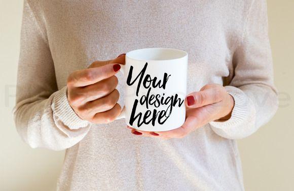 2 Styled Stock Mug Image mock ups by Plums Pixel Love on @creativemarket