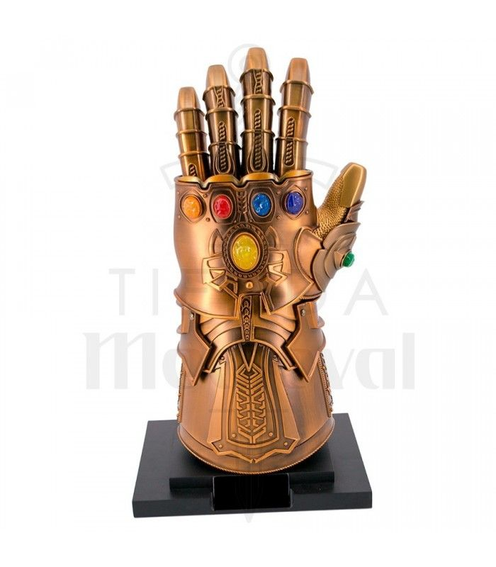 Avengers Marvel Infinity War Gauntlet Gantelet L/'infini L/'infini //// Le Gant