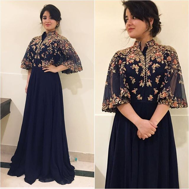 @zairawasim_ Outfit - @kalkifashion Styled by - @talukdarbornali #bollywood #style #fashion #beauty #bollywoodstyle #bollywoodfashion #indianfashion #celebstyle #celebrityfashion #indianstyle #afashionistasdiaries #zairawasim #kalkifashion