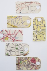 Maps as tags.