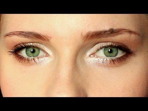 Codzienny makijaż powiększający oczy