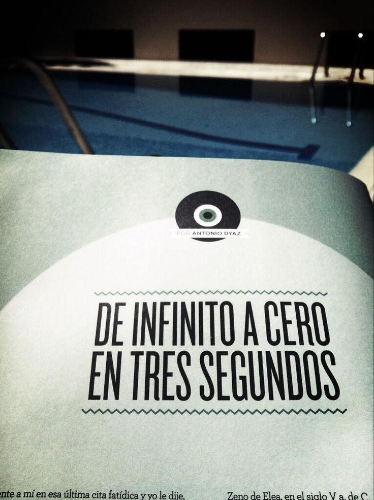 """@Antonio Dyaz:""""El infinito es una palabra de 4 sílabas en todos los idiomas y hay que desconfiar de ella"""""""