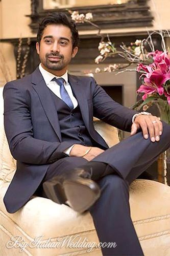 Handsome Rannvijay Singh just before his  wedding ceremony