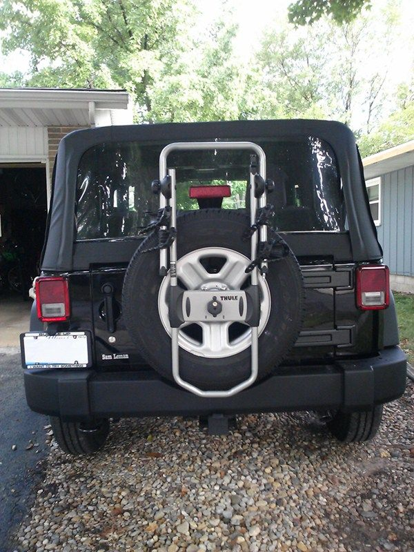 Best 25+ Spare tire bike rack ideas on Pinterest