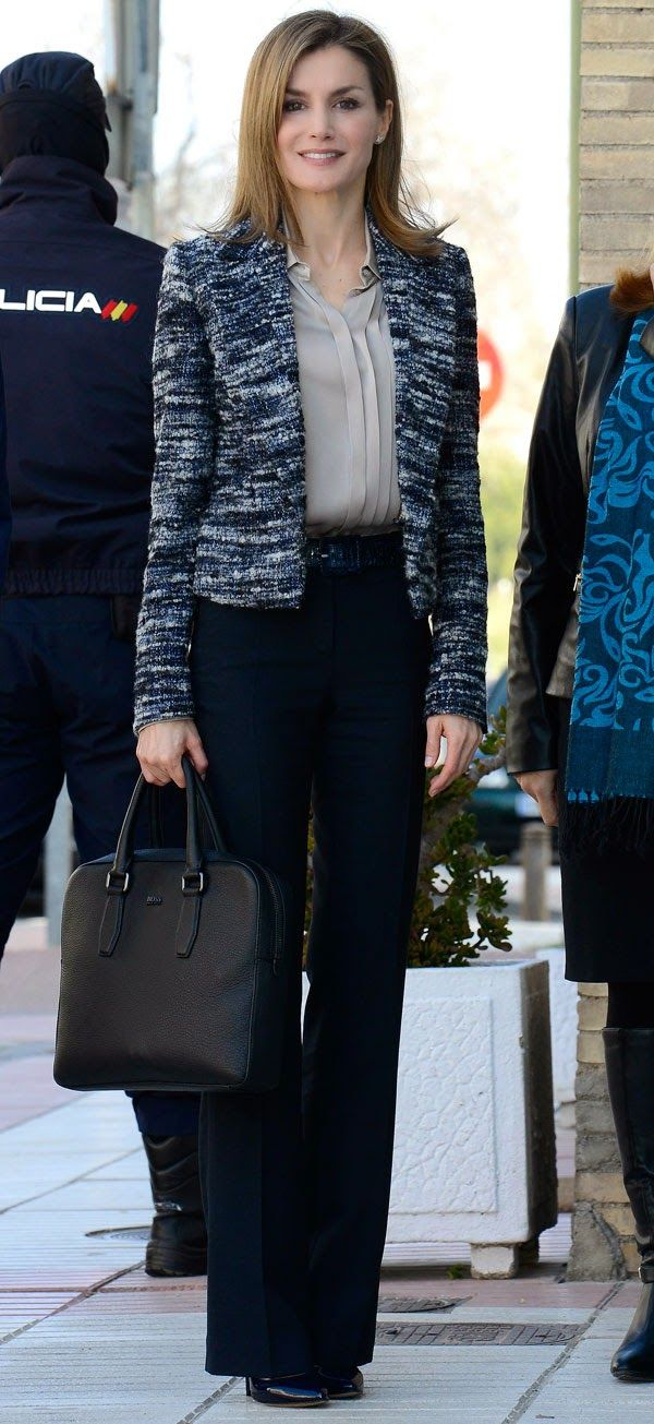 """MyRoyals: Queen Letizia attended a meeting with the Board of the """"Foundation UNICEF Spanish Comitte"""" at UNICEF Offices, Madrid, March 16, 2015"""