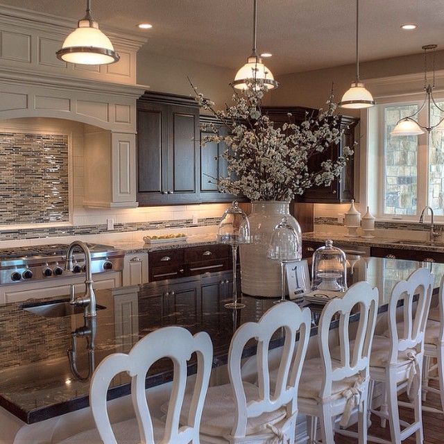 Loving This Open Concept By Tollbrothers: 21 Best Gray And White Kitchen With Red Accents Images On
