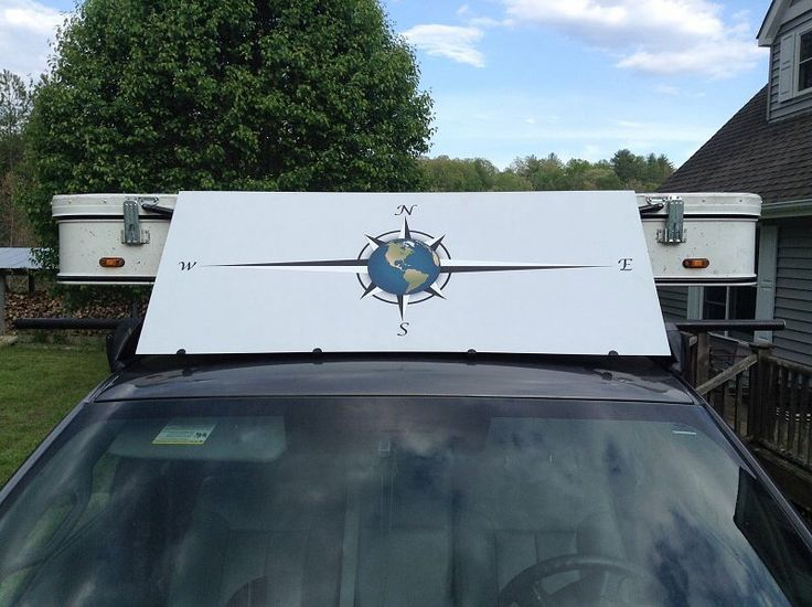 100acrehuphalump S Custom Wind Deflector Printed On