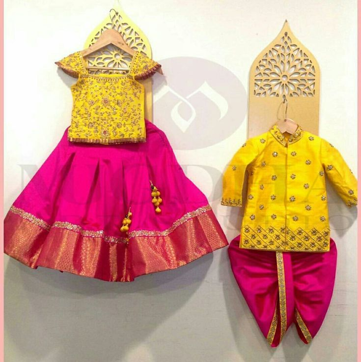 Gahra choli and diggi kurta  party wear indian dress for kids