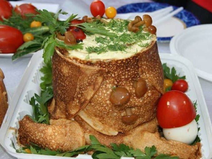 станок рецепты салата пенек с фото объявление