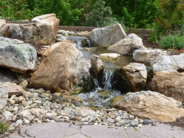 7 best pondless waterfall images on pinterest waterfall for Design of pondless waterfalls