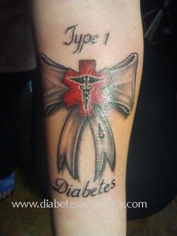 94 best diabetic tattoos images on pinterest health for Diabetes tattoo ideas