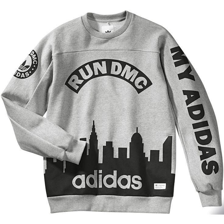adidas Suéter Run DMC | adidas Mexico #adidasoriginals
