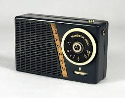 A transistor radio is a small portable radio receiver that uses transistor-based circuitry. Following their development in 1954, made possible by the invention of the transistor in 1947, they became the most popular electronic communication device in history, with billions manufactured during the 1960s and 1970s.