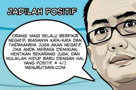 Jadilah positif