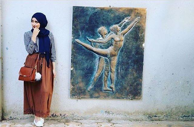 @fatosh_alazaoya #hijabiselegant