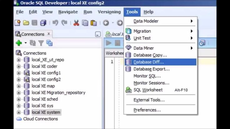 Configuration Management with Oracle's SQL Developer