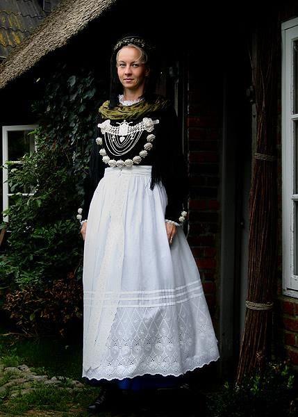 Немецкий народный свадебный костюм