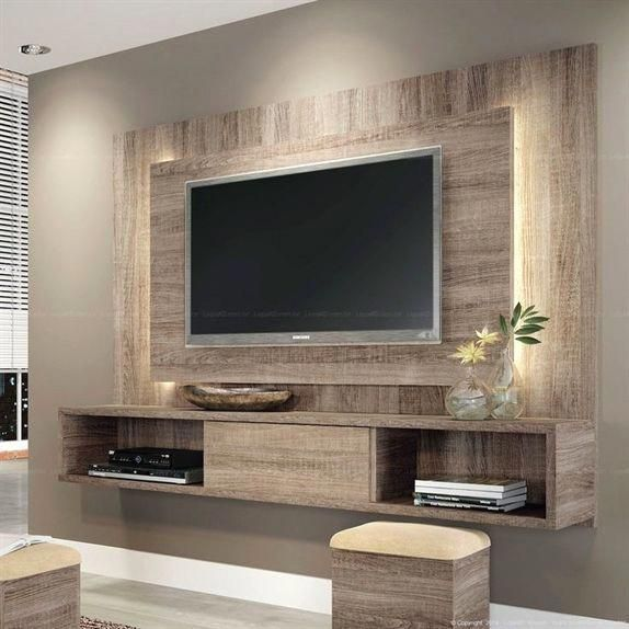 Tv Wall Mount Ideas For Living Room Awesome Place Of Television Nihe And Chic Designs Modern Decorating Ide Living Room Tv Wall Tv Wall Decor Tv Wall Design