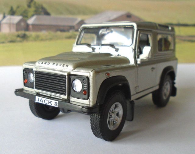 Personalised Plates Silver Land Rover Defender