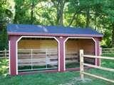 Run In Sheds   Custom Run-In Horse Barns   Outdoor Sheds