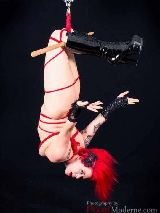 Nude goth girls bondage