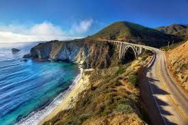 I'd love to go back to America and drive the Big Sur coastal road