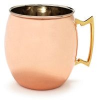 Moscow Mules are one of my favorite cocktails, and I'll only have them in a copper mug. (The mug is what makes it so amazing!)