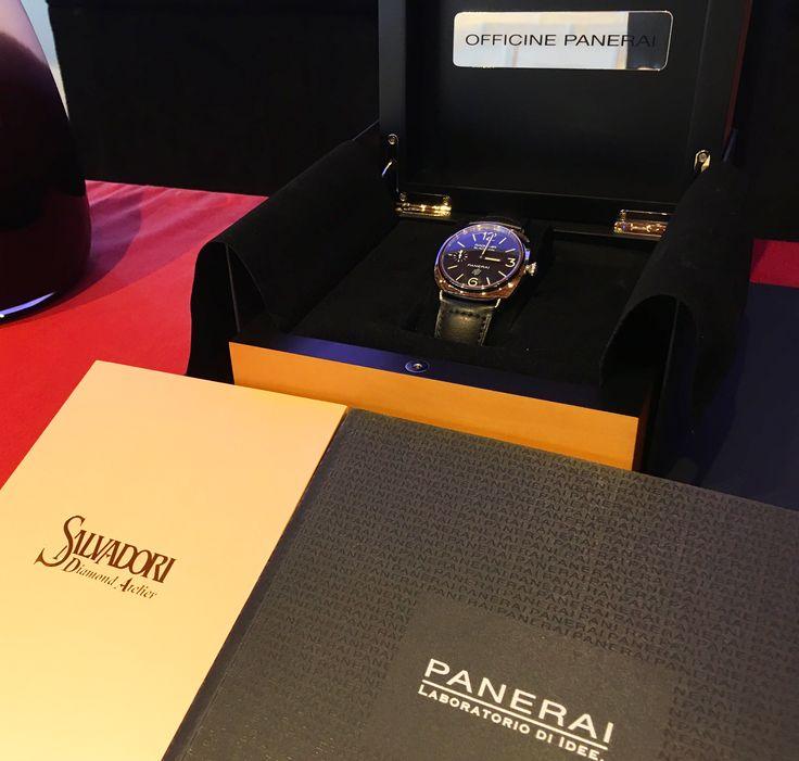 #Veleziana2016 #jewellery #jewels #diamondring #engagementring #orologi #panerai #officinepanerai #pam00578 #italiandesign #swisstechnology #specialedition #luxurywatch #luxurydesign #watchlovers #watchaddict #salvadorivenezia