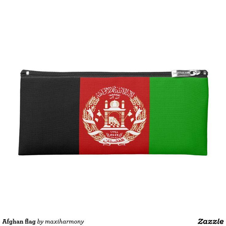 Afghan flag pencil case