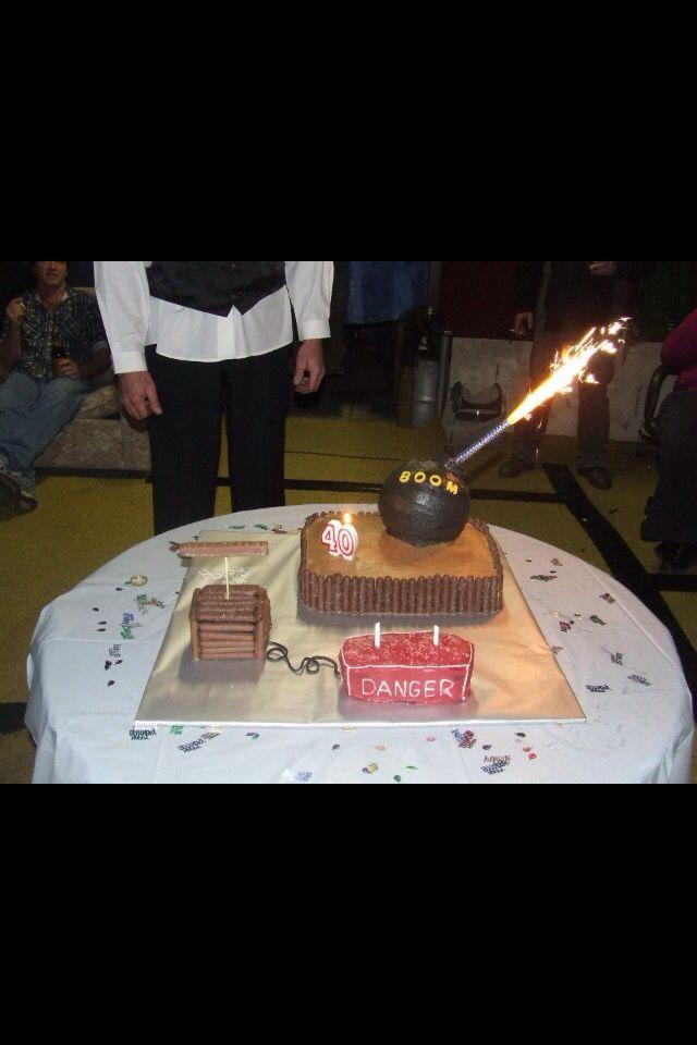 Dynamite cake