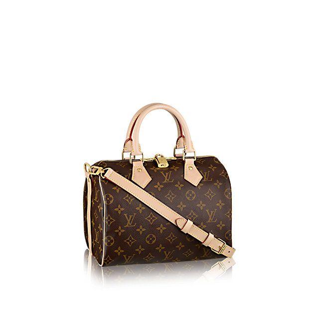 Speedy Bandouliere 25 +Monogram Canvas - Handbags | LOUIS VUITTON