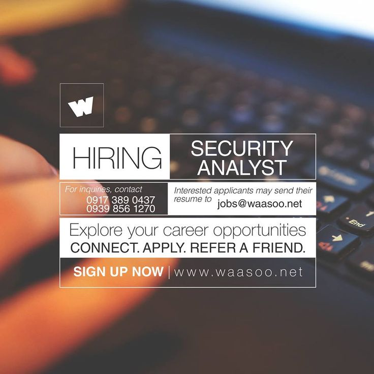 Weu0027re looking for individuals to fill in the position of Security - send resume to jobs