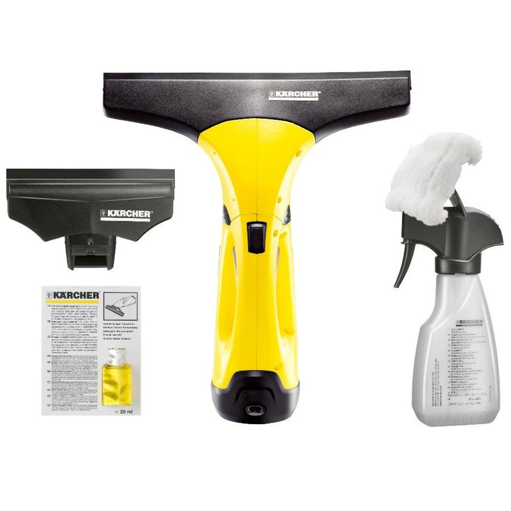 Kärcher WV2 Premium Window Vacuum Cleaner with Accessory Pack