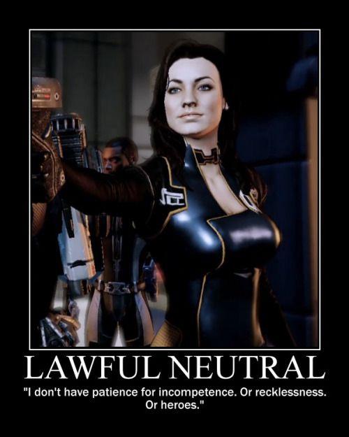 Miranda Lawson Lawful Neutral