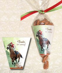 Kentucky Derby Favors:  Candy Cone Kit from TheInvitationShop...