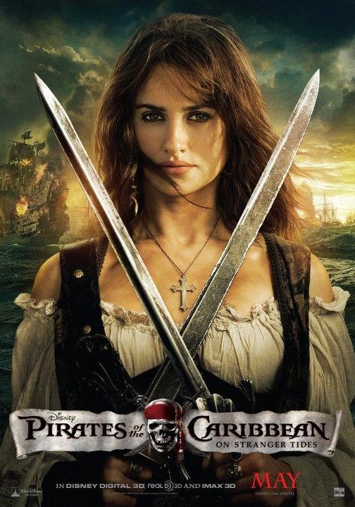 Movie poster On Stranger Tides