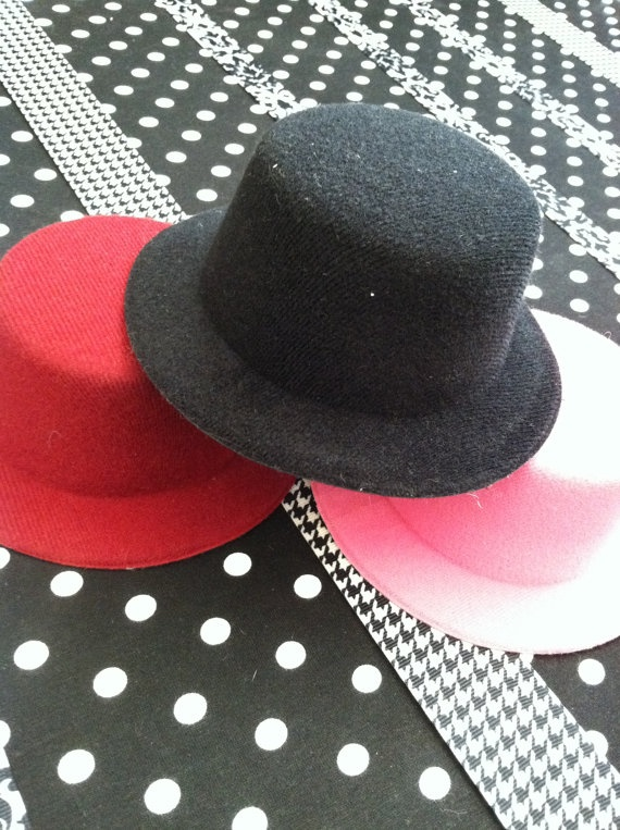 Mini Top Hat Base for Hat and Hair Bow Making by NolasGarage, $3.75