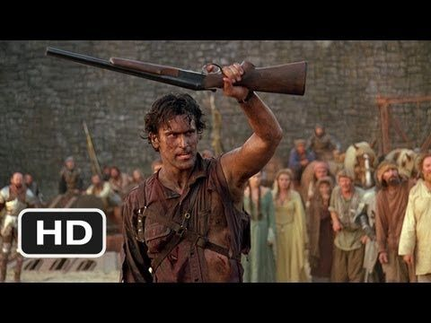 This Is My Boomstick!  Army of Darkness 210 Movie CLIP