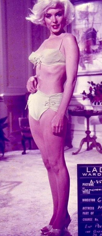 "Marilyn Monroe, costume test for ""Something's Got To Give"", 1962."