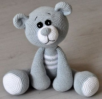 Kunterbunte Häkeltiere -  - Do it yourself! Häkelanleitungen , patterns für Teddybären, Teddys